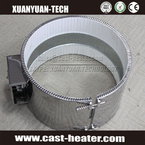 ceramic mica band heater ring for plastic extrusion