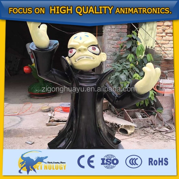 Cetnology realistic animal model for shopping mall decoration