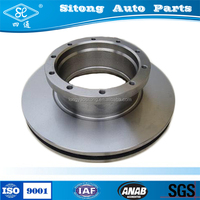 High Quality Auto Parts Approved for German truck brake rotors brake disc