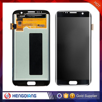 DHL shipping lcd digitizer for Samsung galaxy s7 edge lcd glass screen replacement