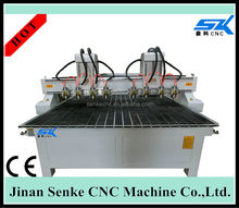 High Efficiency eight Head CNC Engraving Router For Sale china cnc router machine 1325