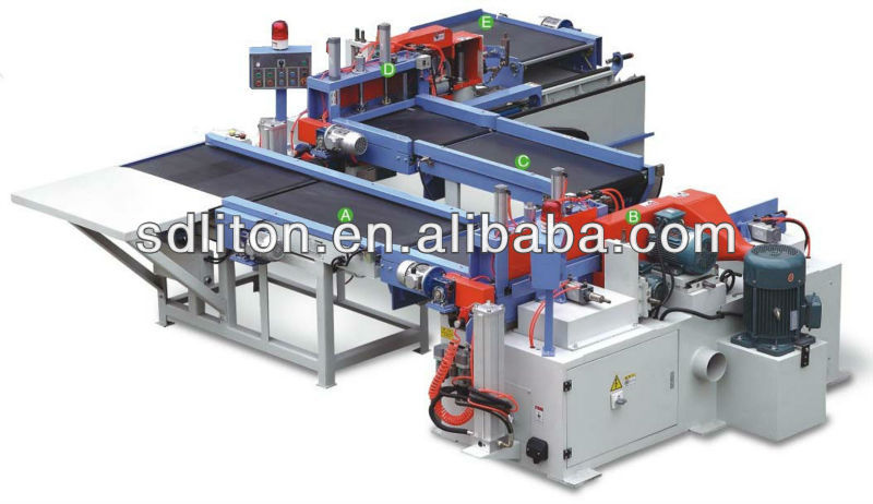 Semi-automatic finger joint machine