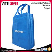 Hand made cheap high quality non woven bag for advertisement