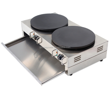 commercial electric Double roller grill electric pancake maker machine crepe maker machine with factory prices