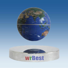 2017 China Factory Bottom POP Round Magnetic Levitation Display Stand for Globe W-8011