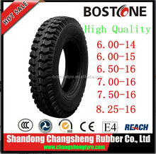 China factory lowest price 650-16 750-16 mining truck tire size 750x16
