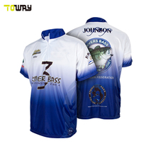 plain wholesale factory custom tournament fishing shirts