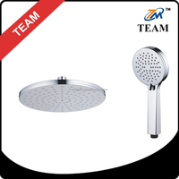 TM-8017 100% new ABS plastic top shower head/hand shower