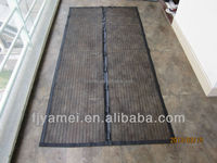 215X 100 Black Magnetic soft screen door curtains from chinese manufacturers
