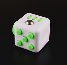 2017 hot sale anxiety release fidget cube hand toy cube