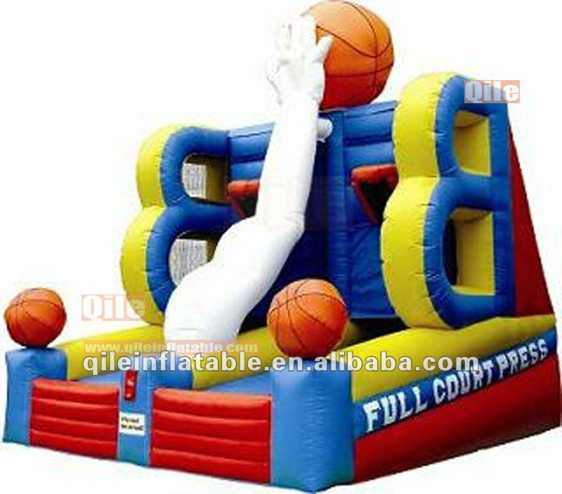 indoor sports games/Inflatable throwing games