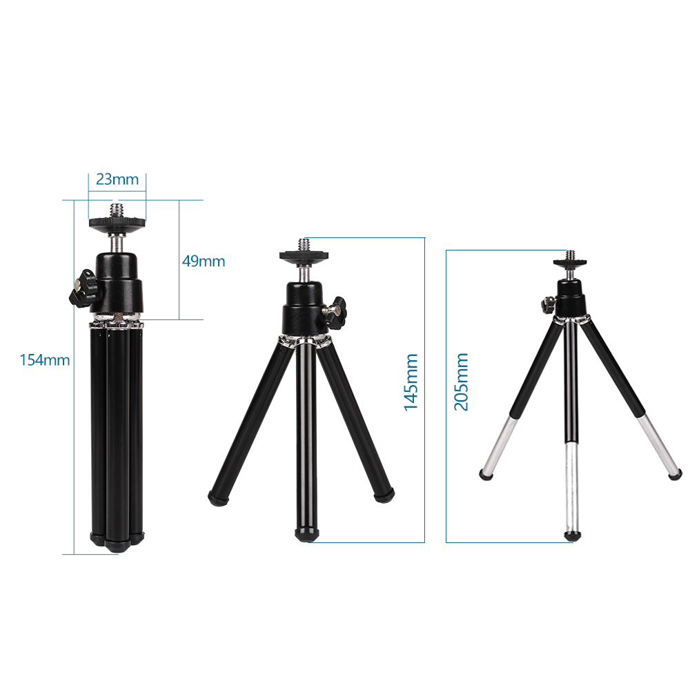 Kaliou 2020 Hot Selling Flexible Mini Tripod For Smartphone iphone Huaweixiaomi Monopod for Go pro 7 6 5 4 3 2 1 Sj4000 Sj5000