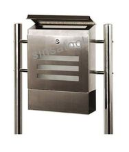 Favorable price modern free standing stainless steel mailboxes