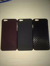 100% Real carbon fiber cell phone cover case