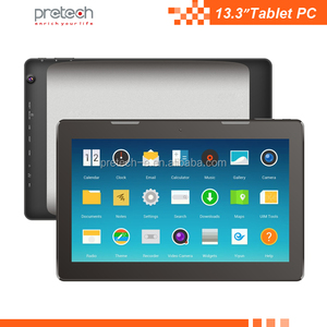cheapest Octa core RK3368 rk3188 13.3 inch wifi hd Ad player android mid Tablet pc with 1920*1080IPS screen