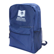 Good quality cheap 600D polyester kids school backpack bag for children