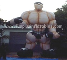 inflatable muscle man balloon outdoor advertising P4016
