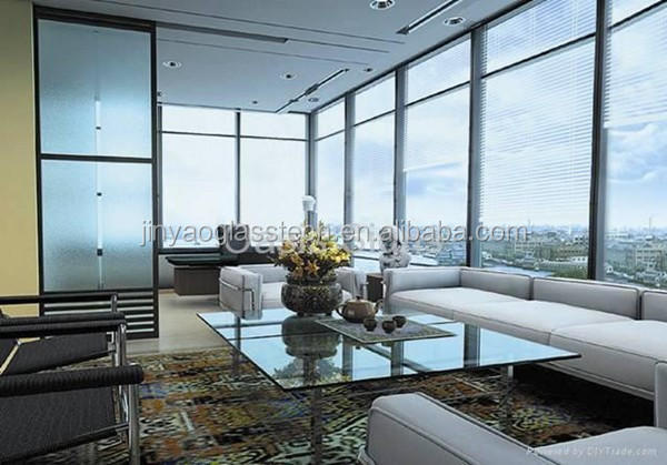 Jinyao saving energy coated insulated glass rooms