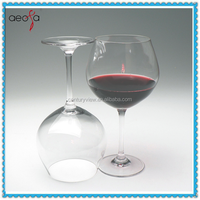 wholesale water thick glass goblets