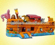 Giant inflatable multifun noah's ark bounce house for kids 19ft
