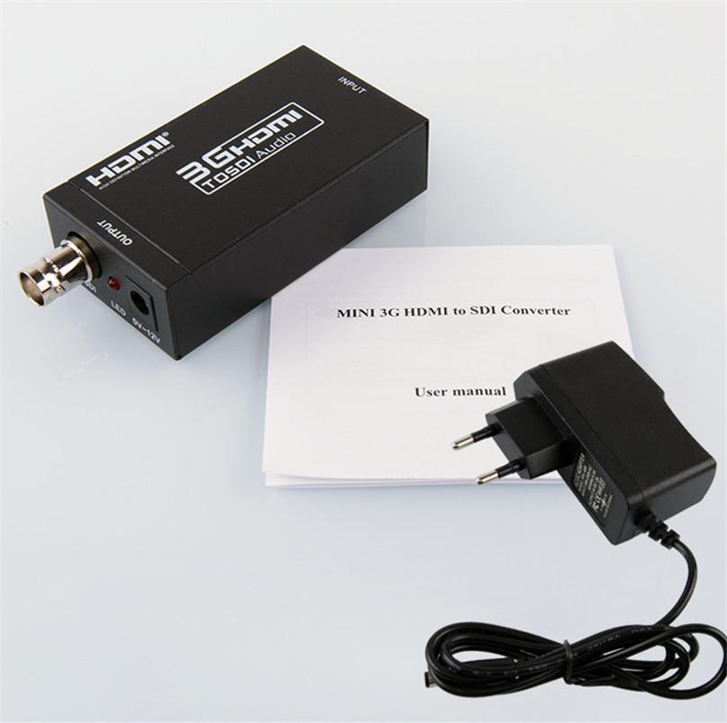 1080P Mini 3G HDMI to SDI Audio Spdif Converter Adapter BNC SDI//HD-SDI//3G-SDI