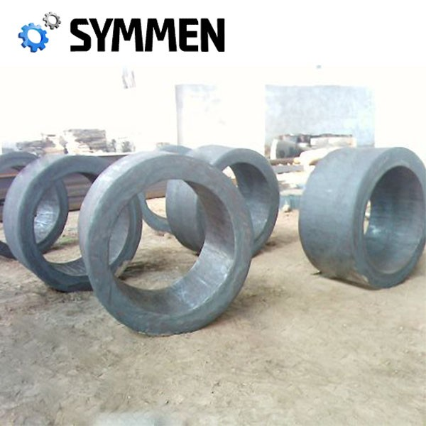 Big Size Large Carbon Steel Ring Rolled Forgings For Rotary Kiln
