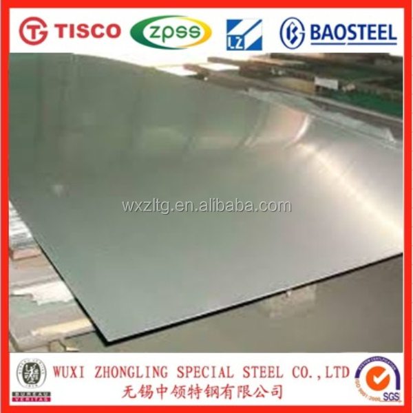 Manufacturer supply ss430 stainless steel sheet ,2B,BA finished