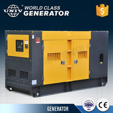 60 kv diesel powered genset generator 50kw silent denyo type