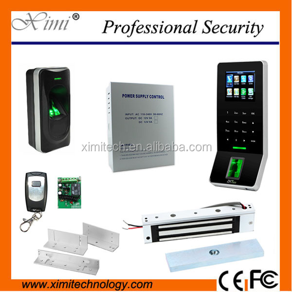 TCP/IP Linux ZK Biometric Time Attendance RFID And Fingerprint Door Access Control System