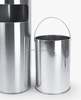 Home/House use standing type stainless steel rubbish bin