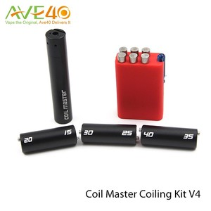 Rebuildable Atomizer Coil Tool kit Coil Master DIY Coiling Kit V4