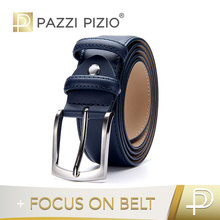 factory custom blue brown black belts genuine leather alloy buckle belts