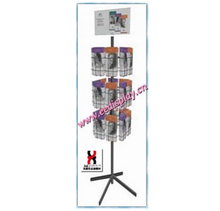 3 tiers rotating freely wire greeting card racks for sale/Brochure or Map Display stand for promotion/supermarket