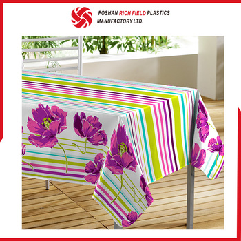Fancy Customized Printed Sequin Cheap Petal Table Cloth