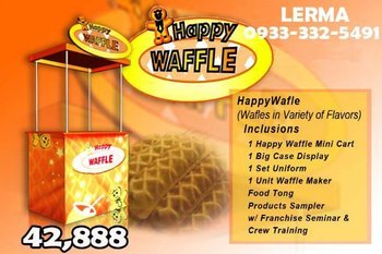 FOOD CART FRANCHISE - HAPPY WAFFLE