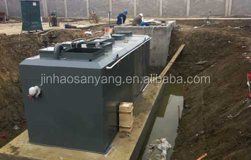 Hotel domestic and sanitary integrated waste water treatment plant(WWTP)