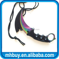 Gaming Scene Knife Rainbow Karambit
