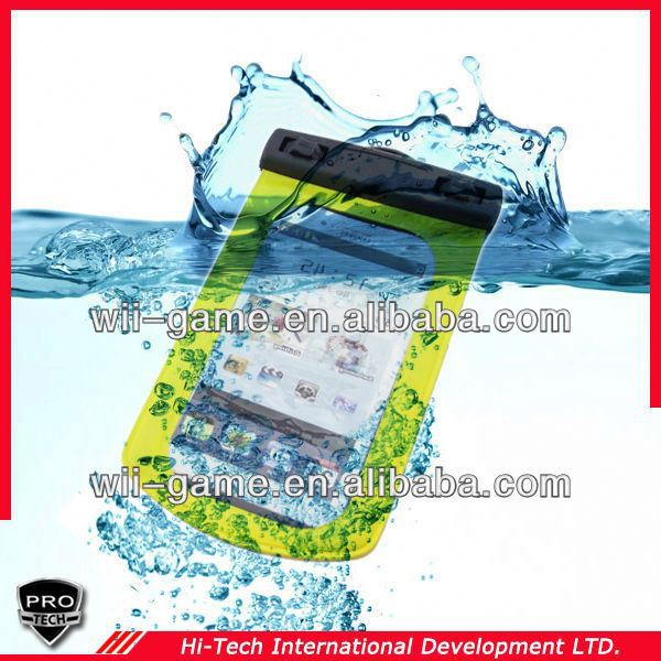 WP-160 For Galaxy S4 20M Sealed pvc waterproof phone case