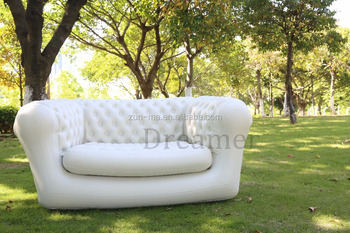 Inflatable blow up couch