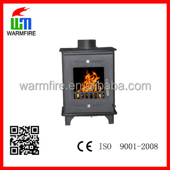 NO. WM208-500 WarmFire black steel wood stoves