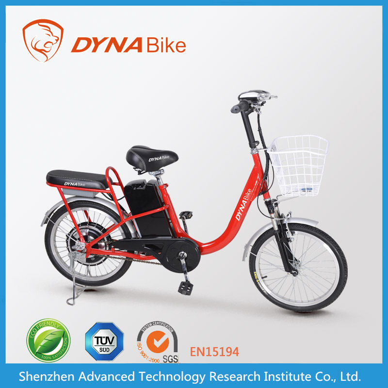 2015 cheap price lightweight pedals assisted electric moped/moped scooters from e-bike DYNABike factory