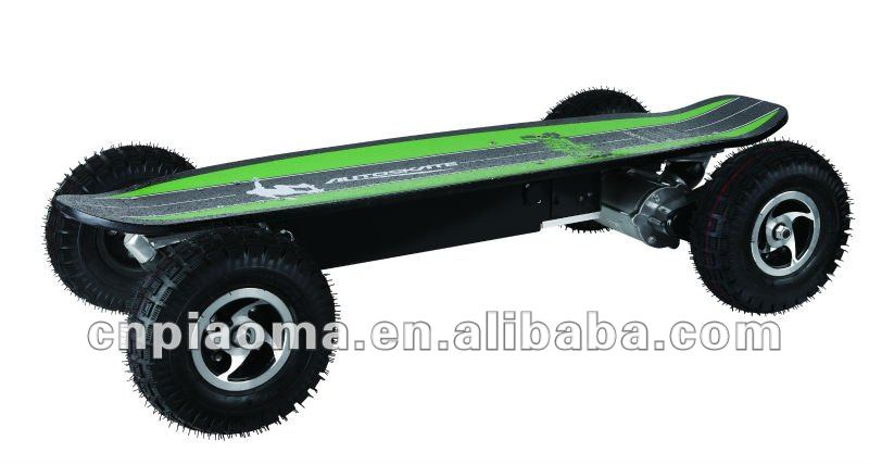 electric skateboard with remote control and ABS brake