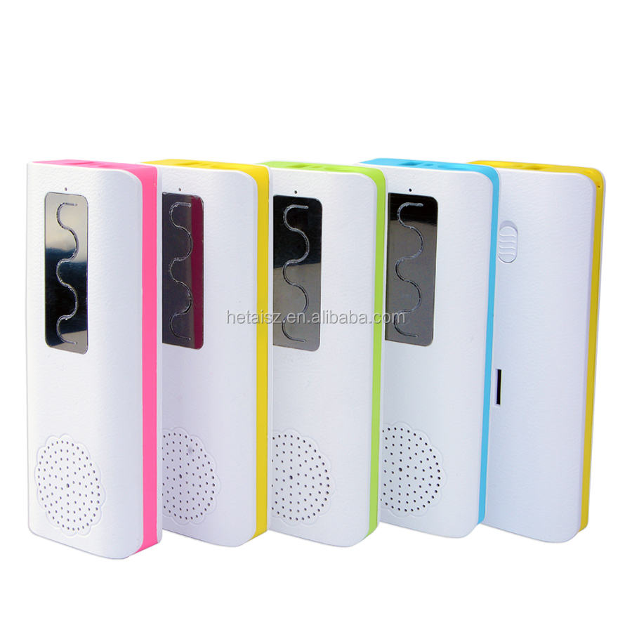 2015 new design bluetooth speaker power bank 2400mah--5600mah