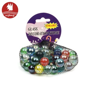 Modern design home decorative 14mm glass marbles for sale