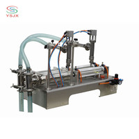 high speed two nozzles edible oil cooking oil filling machine with low price