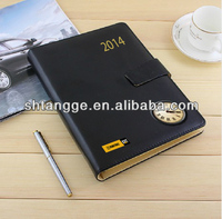2014 planner executive with clock