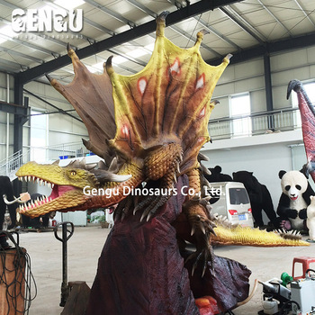 Cartoon Robotic Dragons 3D Model