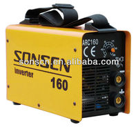 Mini DC inverter mma welder ZX7-160 arc welding machine