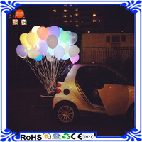 Colorful Flashing LED Light Balloon for centerpiece decoration