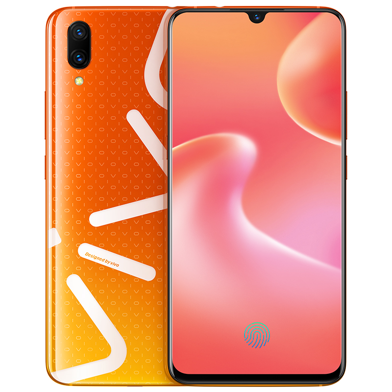 Original New VIVO X23 Mobile <strong>Phone</strong> 8GB RAM 128GB ROM Snapdragon Octa core Full Screen Dual Rear Camera 4G LTE Cell <strong>phone</strong>